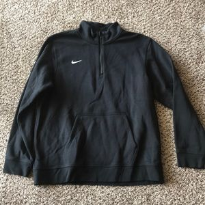 Nike fleece Pullover with front pocket.